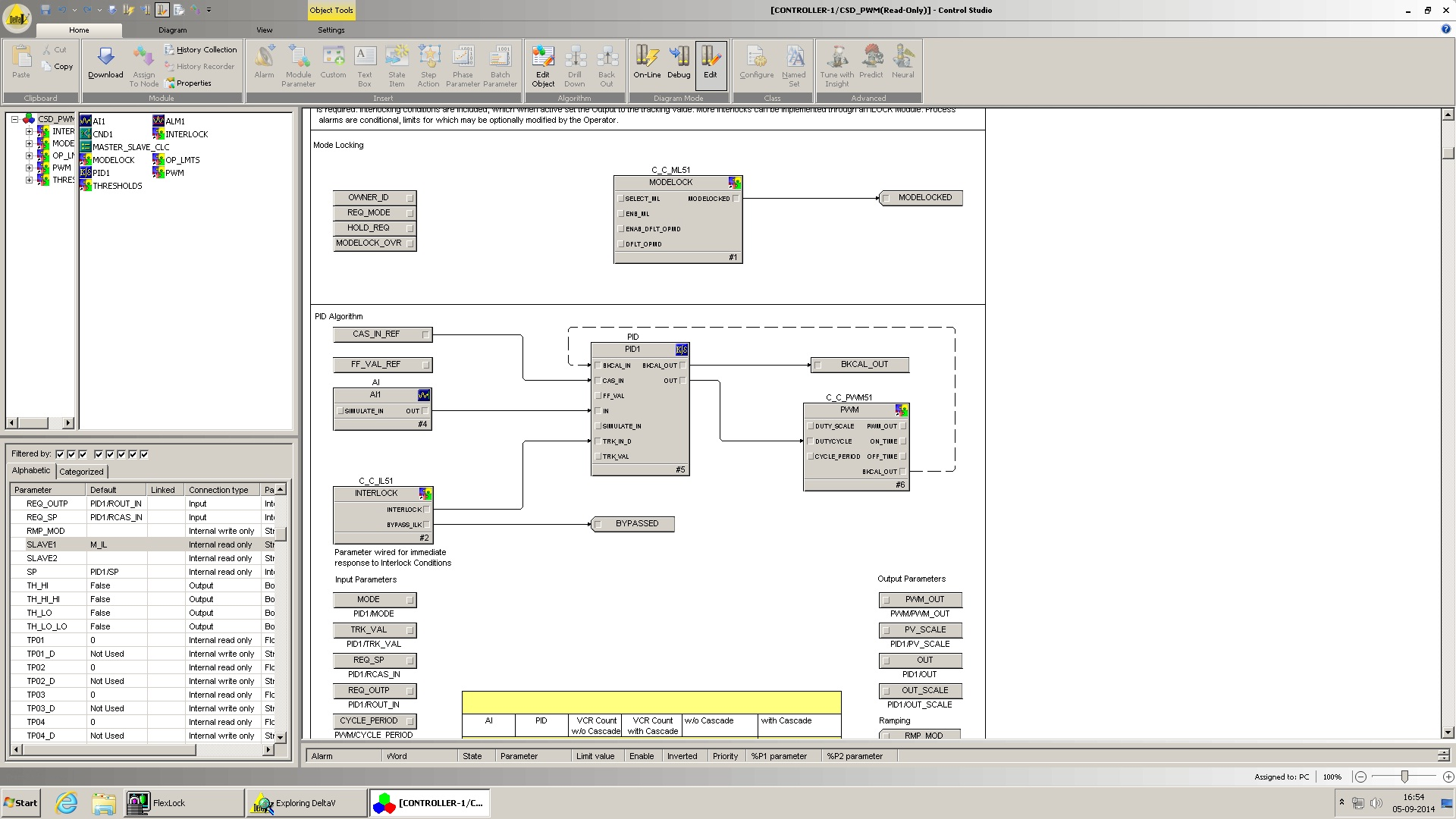 Emerson Exchange 365 Discrete Pwm Generator Circuit Schematic